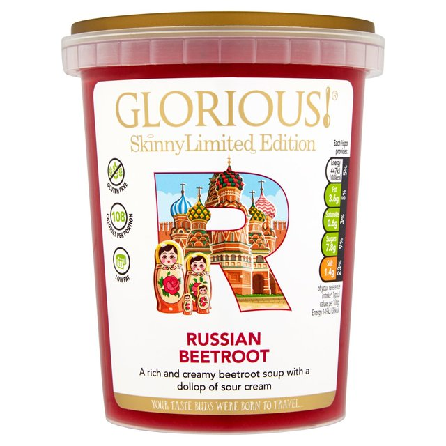 Glorious! Limited Edition Skinnylicious Soup