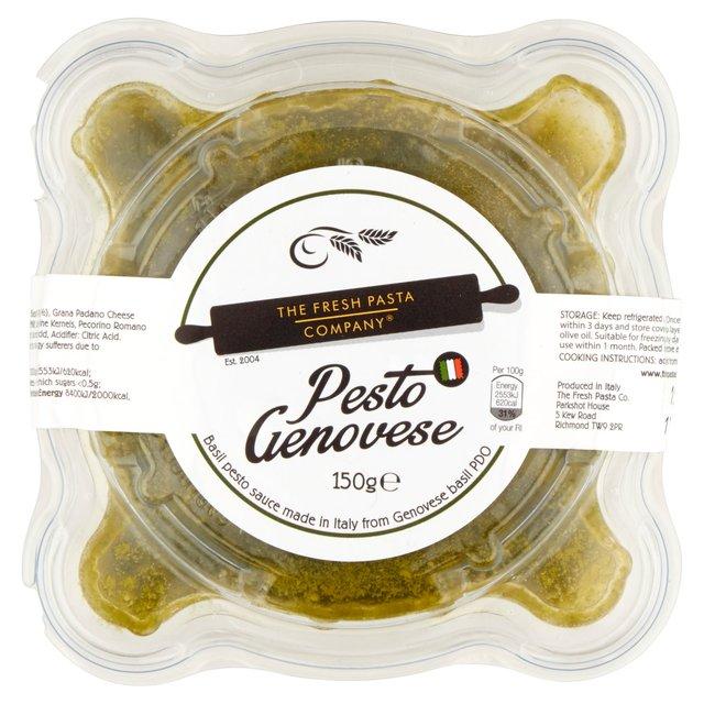 how to add pesto sauce to pasta