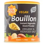 Marigold Organic Vegan Bouillon Powder Reduced Salt