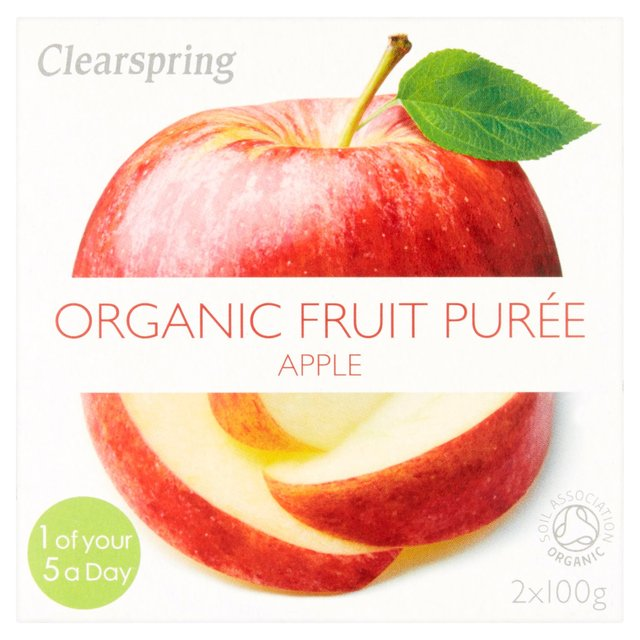 Clearspring Organic Apple Puree