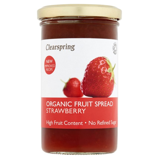 Clearspring Organic Strawberry Fruit Spread