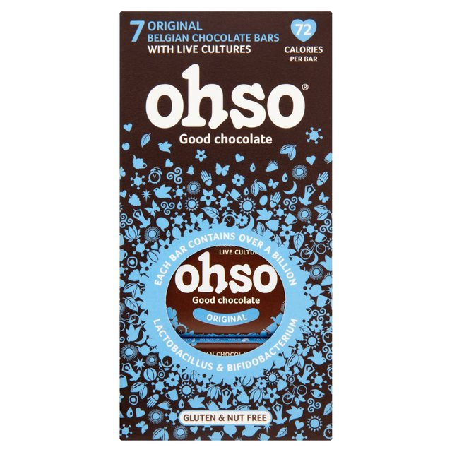 Ohso Free From Daily Probiotic Chocolate Bars
