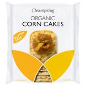Clearspring Gluten Free Organic Corn Cakes