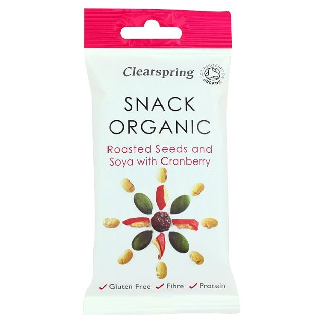 Clearspring Gluten Free Organic Roasted Seeds & Cranberry