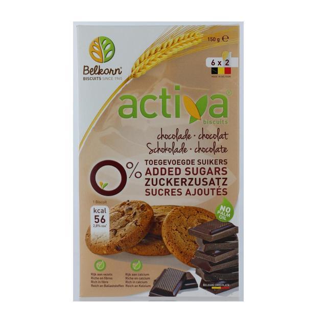 Activa No Added Sugar Chocolate Cookies Ocado