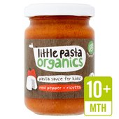 Little Pasta Organics Free From Red Pepper & Ricotta Pasta Sauce