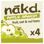 Nakd Wheat & Dairy Free Apple Danish Multipack