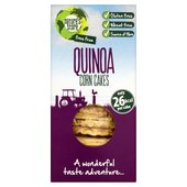 Nature's Store Free From Corn Cakes with Quinoa