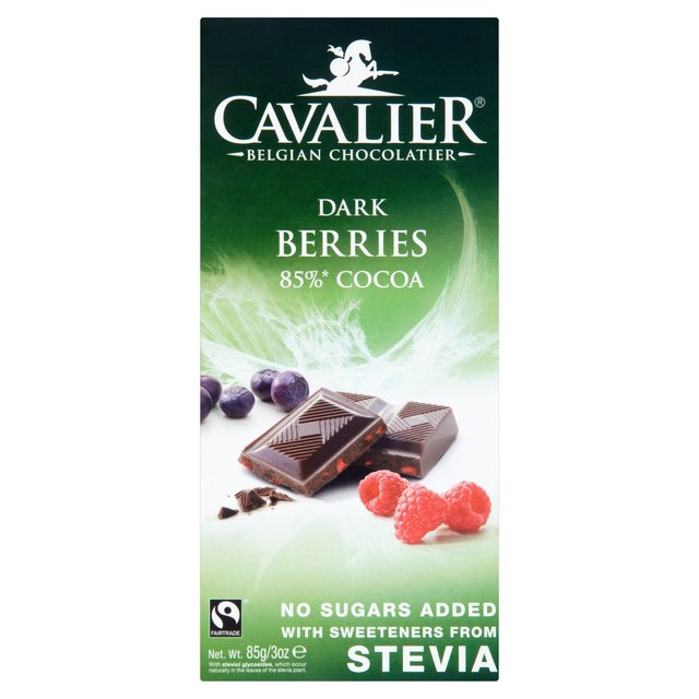 Cavalier Dark Chocolate with Berries Bar