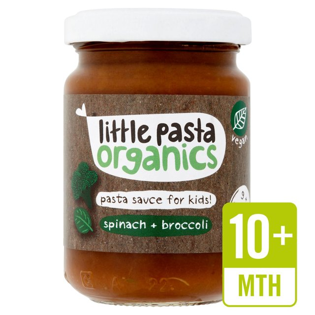 Little Pasta Organics Free From Broccoli & Spinach Pasta Sauce