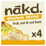 Nakd Wheat & Dairy Free Banana Bread Multipack