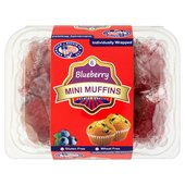 American Muffin Gluten Free Blueberry Mini Muffins