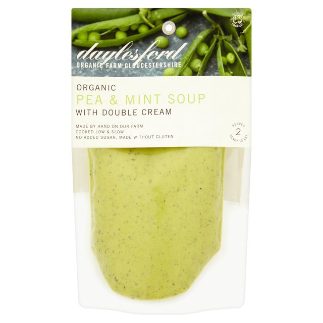 Pea & Mint Soup With Lemon Cream Recipes — Dishmaps