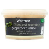 Waitrose Green Peppercorn Sauce