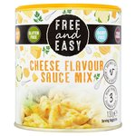 Free & Easy Dairy Free Cheese Flavour Sauce Mix