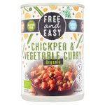 Free & Easy Free From Organic Chick Pea & Vegetable Curry