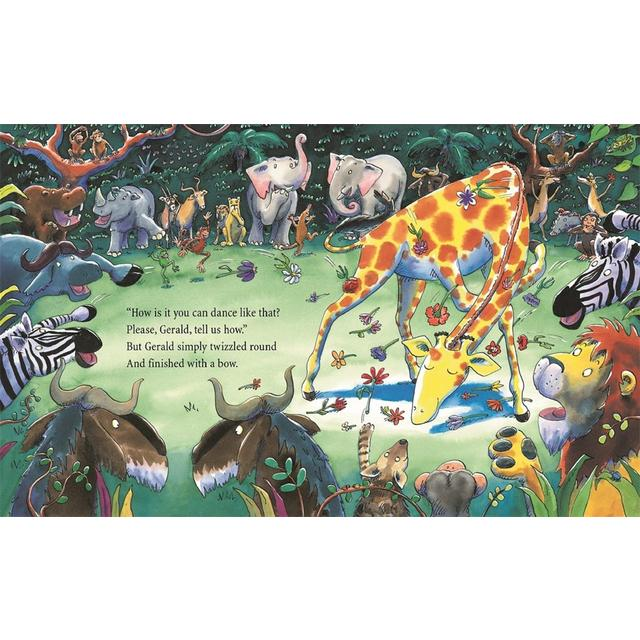 Giraffes Cant Dance Book from Ocado