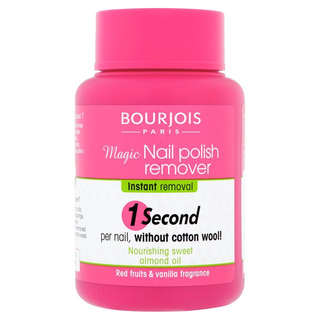 Bourjois Magic Nail Polish Remover 75ml from Ocado