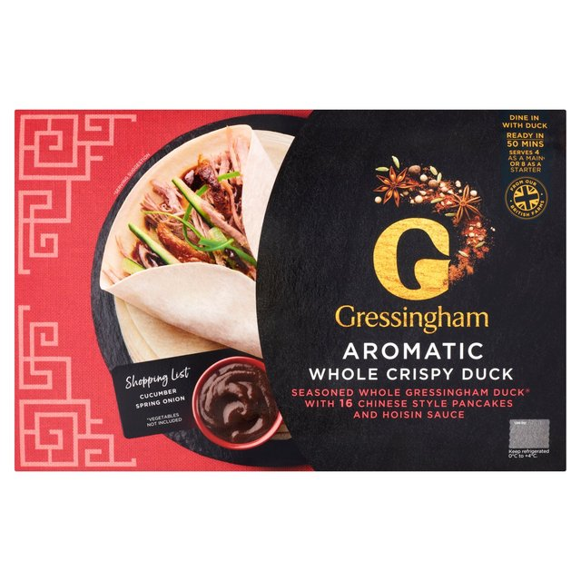 Gressingham Whole Aromatic Crispy Duck Pancakes Ocado