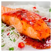 Saucy Fish Salmon with Chilli, Lime & Ginger