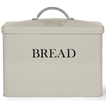 Garden Trading Steel Bread Bin, Clay