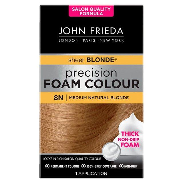 John Frieda Precision Foam Colour Medium Natural Blonde 8n