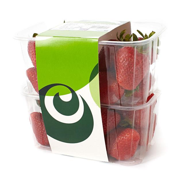 Ocado Strawberries Twin Pack