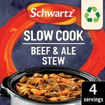 Schwartz Slow Cookers Beef & Ale Stew
