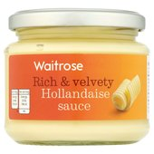 Waitrose Rich & Velvety Hollandaise Sauce