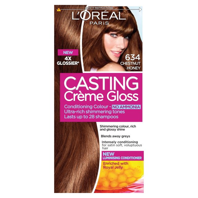 Loreal Casting Creme Gloss 734 Rich Honey | Dark Brown Hairs