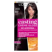 L'Oreal Casting Creme Gloss Ebony Black 200 at Ocado