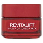 L'Oreal Revitalift Face, Contours & Neck Cream at Ocado