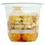Waitrose Jalapeno & Garlic Stuffed Olives