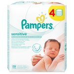 Sensitive Baby Wipes 4 x 56 per pack