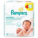 Sensitive Baby Wipes 4 x 56 per pack