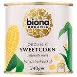 Biona Organic Sweetcorn No Added Sugar