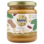 Biona Organic Peanut Butter Crunchy (free from Palm Fat)