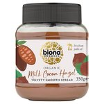 Biona Organic Milk Chocolate Hazelnut Spread