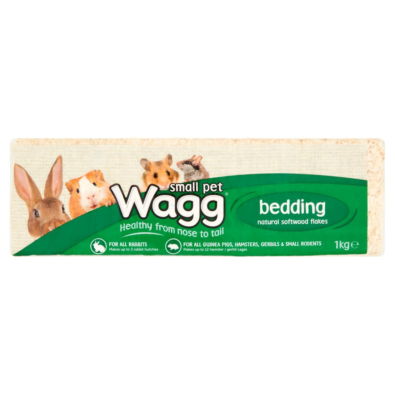 An image of Wagg Small Pets Bedding