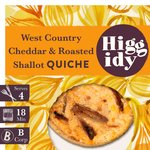 Higgidy Balsamic Onion & Cheddar Quiche