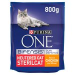 Purina ONE Neutered Cat Chicken & Wheat
