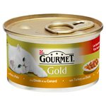 Gourmet Gold Cat Food Turkey & Duck in Gravy