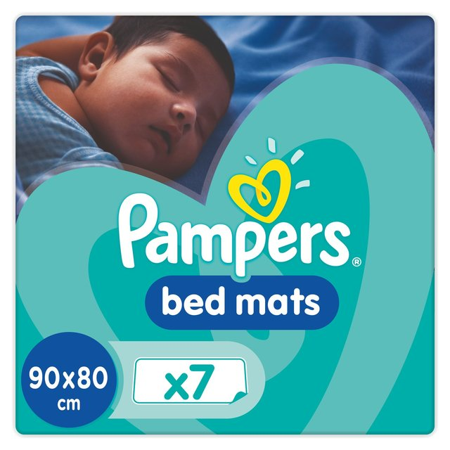 Pampers Bed Mats Compact Bag 7 Per Pack Case Of 6 Ebay