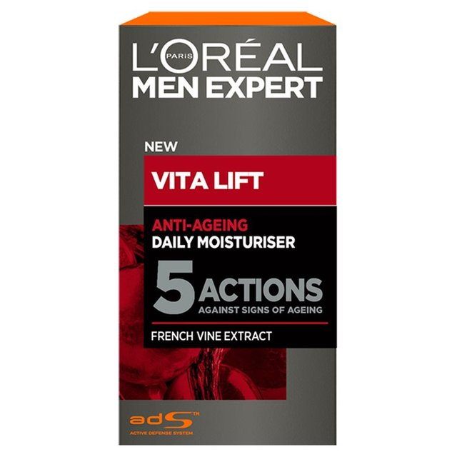 l 39 oreal men expert vitalift 5 moisturiser 50ml from ocado. Black Bedroom Furniture Sets. Home Design Ideas