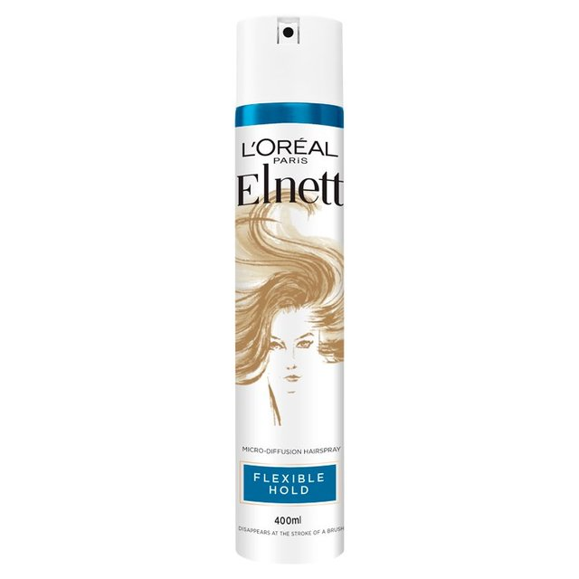 48bf60bb013 L'Oreal Elnett Hairspray Flexible Extra Strength 400ml from Ocado