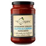 Mr Organic Olives & Capers Authentic Italian Pasta Sauce