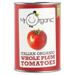 Mr Organic Whole Peeled Plum Tomatoes