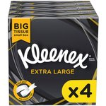 Kleenex Mansize Tissues 4 Packs