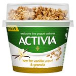 Activia Breakfast Pot Vanilla Yogurt