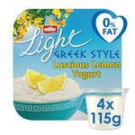 Muller Light Greek Style Lemon Yoghurt